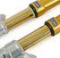 Gabelinnenrohr-Beschichtungen: Titannitrid  und Kohlenstoff-DLC