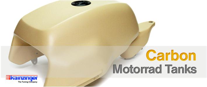 Carbon Motorrad-Tanks von KAINZINGER -The Tuning Company für viele Motorräder!