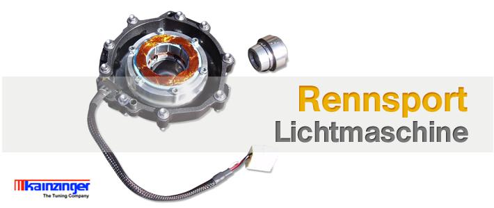 Motorrad Rennsport-Lichtmaschinen von KAINZINGER -The Tuning Company!