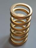 Dauerhaft goldfarben beschichtete Stoßdämpfer-Feder(n) / Federbein-Feder(n)