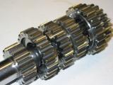Ein komplettes Motorrad-Getriebe Superfinish behandeln