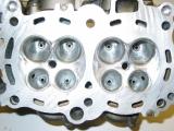 Zylinderkopfbearbeitung der beiden VFR 1200 Zylinderköpfe